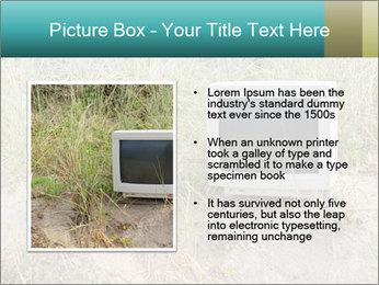 Computer screen PowerPoint Template - Slide 13
