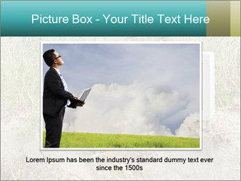 Computer screen PowerPoint Template - Slide 15