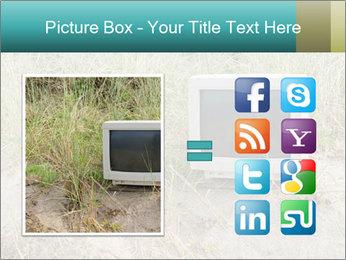 Computer screen PowerPoint Template - Slide 21