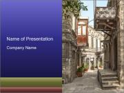 Architecture in Baku PowerPoint Templates