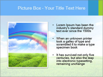 Green field PowerPoint Template - Slide 13