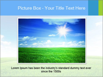 Green field PowerPoint Template - Slide 15
