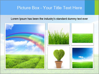 Green field PowerPoint Template - Slide 19