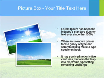 Green field PowerPoint Template - Slide 20