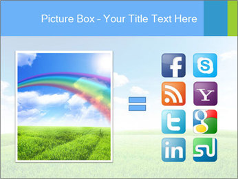 Green field PowerPoint Template - Slide 21