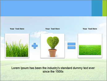 Green field PowerPoint Template - Slide 22