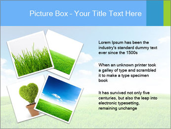 Green field PowerPoint Template - Slide 23