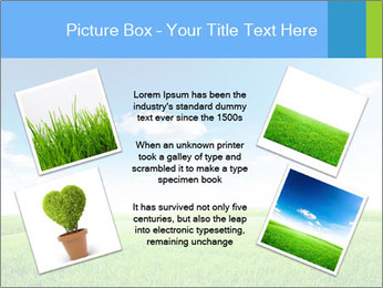 Green field PowerPoint Template - Slide 24
