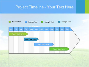 Green field PowerPoint Template - Slide 25