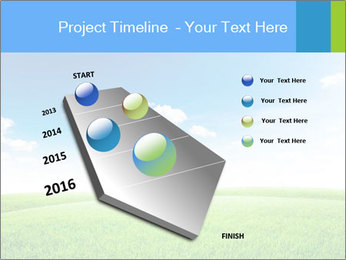 Green field PowerPoint Template - Slide 26