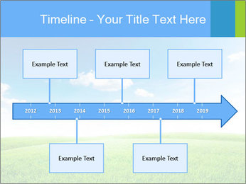 Green field PowerPoint Template - Slide 28