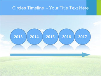 Green field PowerPoint Template - Slide 29