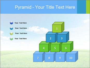 Green field PowerPoint Template - Slide 31
