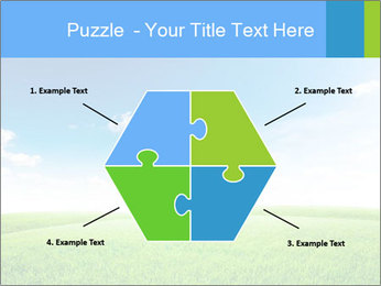 Green field PowerPoint Template - Slide 40