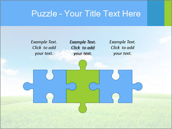 Green field PowerPoint Template - Slide 42