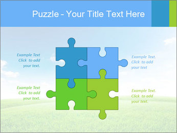 Green field PowerPoint Template - Slide 43