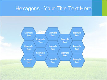 Green field PowerPoint Template - Slide 44
