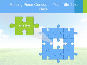 Green field PowerPoint Template - Slide 45