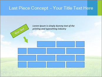 Green field PowerPoint Template - Slide 46