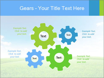 Green field PowerPoint Template - Slide 47