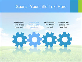 Green field PowerPoint Template - Slide 48