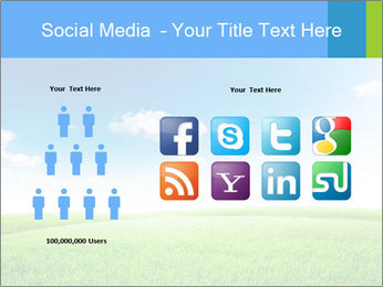 Green field PowerPoint Template - Slide 5