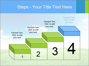 Green field PowerPoint Template - Slide 64