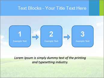 Green field PowerPoint Template - Slide 71