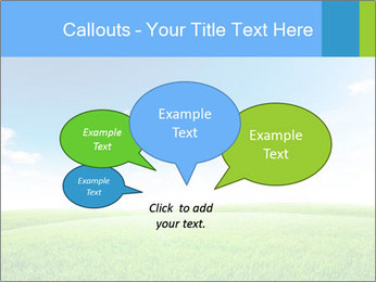 Green field PowerPoint Template - Slide 73