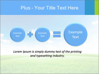 Green field PowerPoint Template - Slide 75