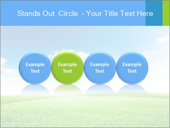 Green field PowerPoint Template - Slide 76