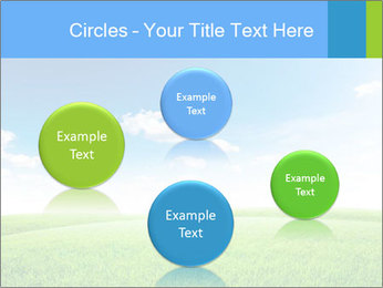 Green field PowerPoint Template - Slide 77