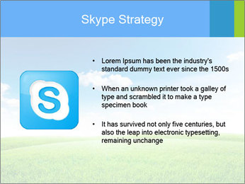 Green field PowerPoint Template - Slide 8
