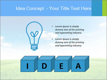 Green field PowerPoint Template - Slide 80
