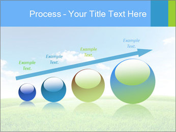 Green field PowerPoint Template - Slide 87