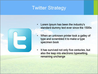 Green field PowerPoint Template - Slide 9