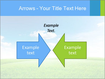 Green field PowerPoint Template - Slide 90