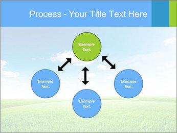 Green field PowerPoint Template - Slide 91
