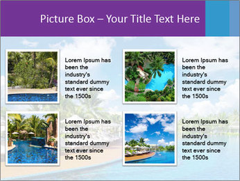 Swimming pool PowerPoint Templates - Slide 14