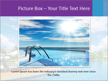 Swimming pool PowerPoint Templates - Slide 15