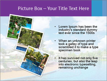 Swimming pool PowerPoint Templates - Slide 17