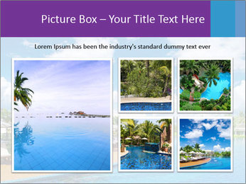 Swimming pool PowerPoint Templates - Slide 19
