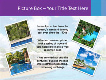 Swimming pool PowerPoint Templates - Slide 24