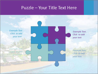 Swimming pool PowerPoint Templates - Slide 43