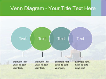 Woman meditating PowerPoint Templates - Slide 32
