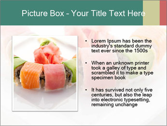 Salmon and Avocado PowerPoint Template - Slide 13