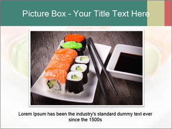 Salmon and Avocado PowerPoint Template - Slide 16