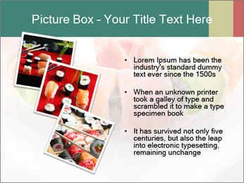 Salmon and Avocado PowerPoint Template - Slide 17