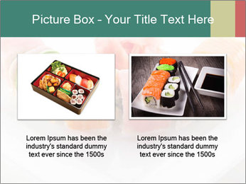 Salmon and Avocado PowerPoint Template - Slide 18