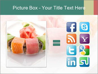 Salmon and Avocado PowerPoint Template - Slide 21